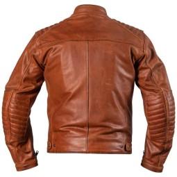 Veste moto cuir Helstons Rocket tan