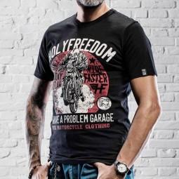 T-shirt Holy Freedom Sunday Outlaw noir