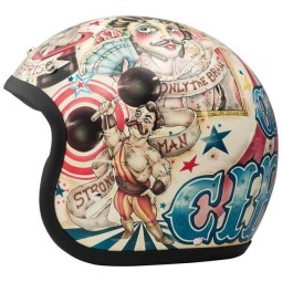 Casco moto DMD jet Vintage Circus