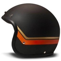 Casco moto DMD jet Vintage Sunset
