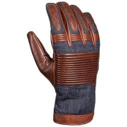 John Doe Durango brown jeans motorcycle gloves