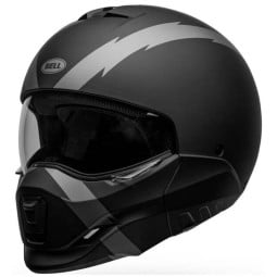 Bell Broozer Arc matte black motorrad helm