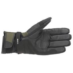 Alpinestars Andes V3 Drystar green motorcycle gloves