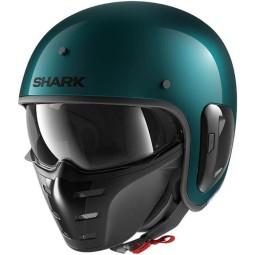 Casco moto Shark S-Drak 2 Blank verde petróleo