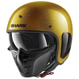 Shark helm S-Drak 2 Blank gold glitter