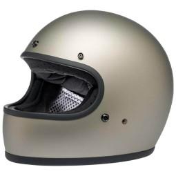 Casco moto Biltwell Gringo flat titanium