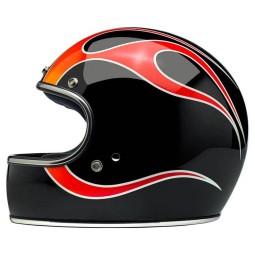 Biltwell Gringo Dice Flames helm