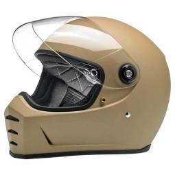 Biltwell Lane Splitter Flat Coyote motorcycle helmets