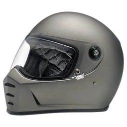 Biltwell Lane Splitter Flat Titanium motorrad helm