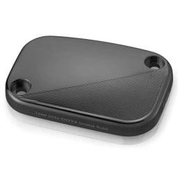 Rizoma Ausgleichsbehälterdeckel Bremse Harley FXDR 114 black