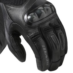 Revit Prime motorradhandschuhe schwarz