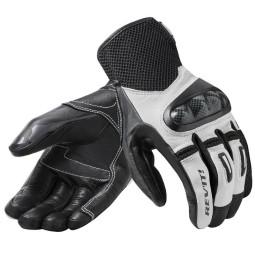 Revit Prime motorradhandschuhe schwarz weiss