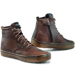 TCX Dartwood WP motorcycle shoes brown