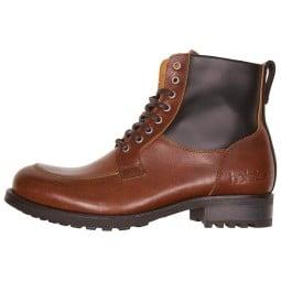 Hesltons Oxford brown motorcycle shoes