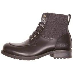 Zapatos moto Helstons Oxford negro gris