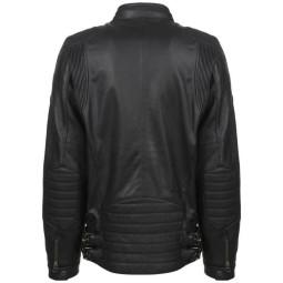 John Doe Roadster black motorcycle leater jacket