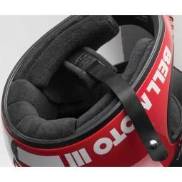 Motorrad Helm Vintage BELL HELMETS Moto 3 Schwarz ,Vintage Helme