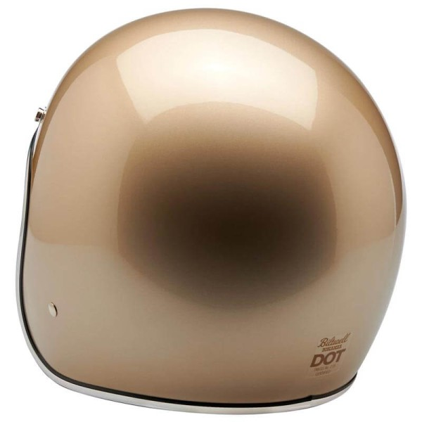 Biltwell Bonanza helmet open face metallic champagne