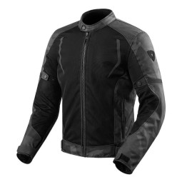Motorcycle Fabric Jacket REVIT Torque Black Grey ,Motorcycle Textile Jackets