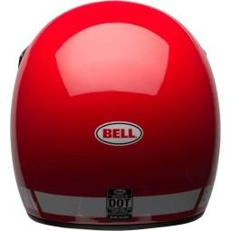 Motorrad Helm Vintage BELL HELMETS Moto 3 Rot ,Vintage Helme