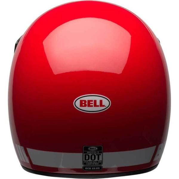 Motorcycle Helmet Vintage BELL HELMETS Moto 3 Red