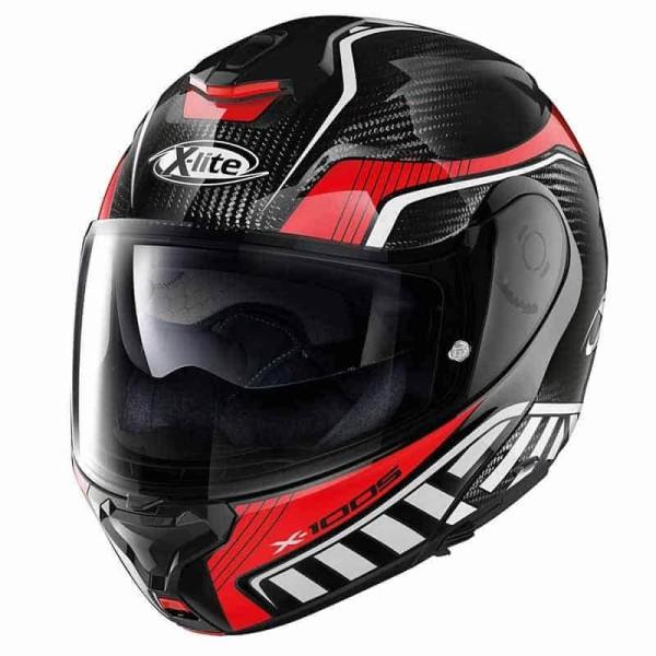 X-lite X-1005 Ultra Carbon Cheyenne helmet black red