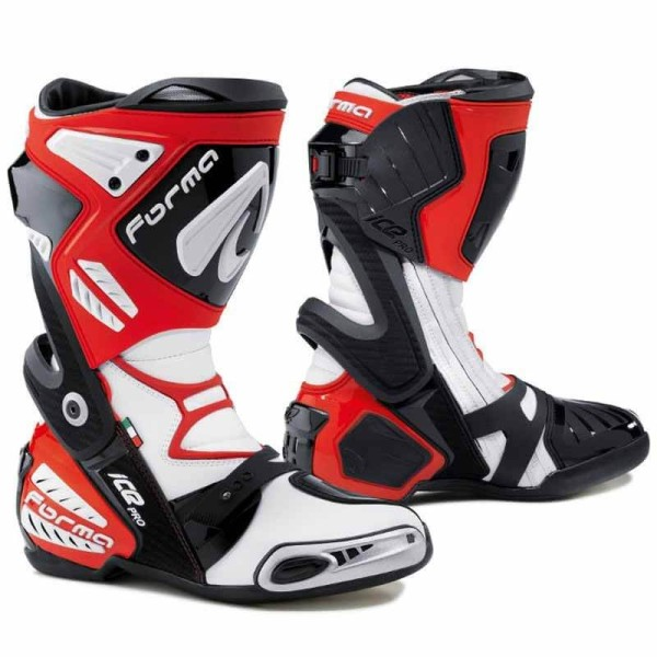 Forma Ice Pro red motorcycle racing boots