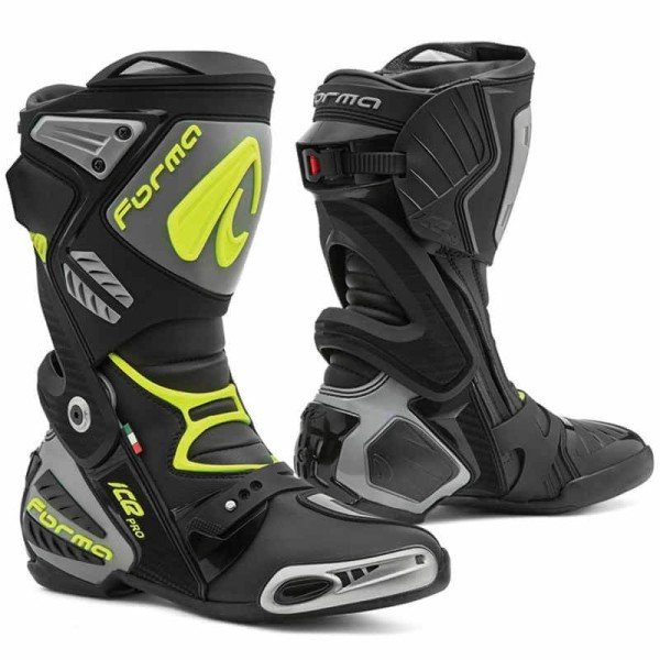 Forma Ice Pro grey motorcycle racing boots