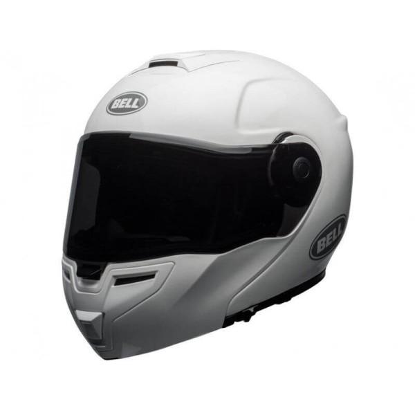 Motorcycle Helmet Modular BELL HELMETS SRT White