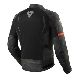 Motorcycle Fabric Jacket REVIT Torque Black Army Green ,Motorcycle Textile Jackets