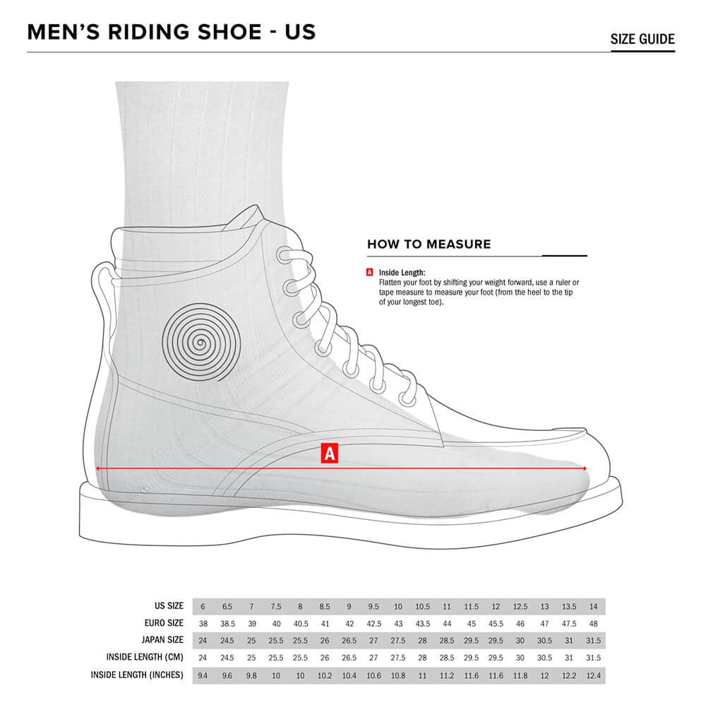 Alpinestars Size Chart Shoes