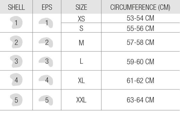 Bell Helmets Size Custom 500