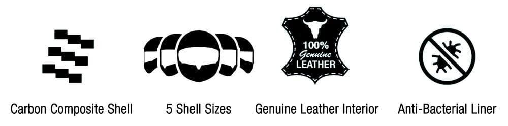 Bell Helmets Features Custom 500 Carbon