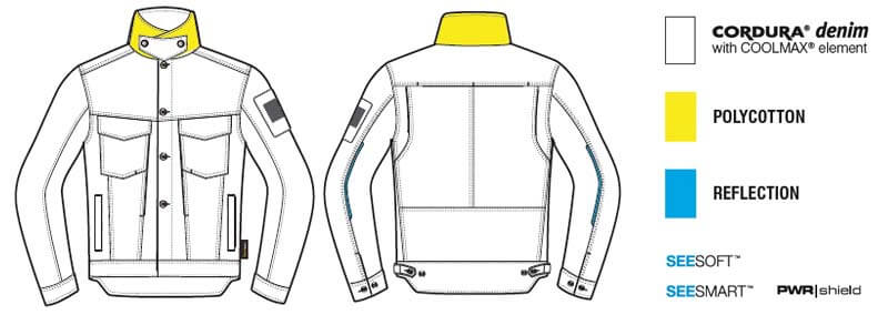 REVIT Giacca Moto Crosby