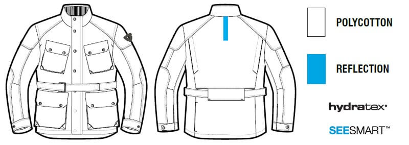 REVIT Livingstone Motorcycle Jacket