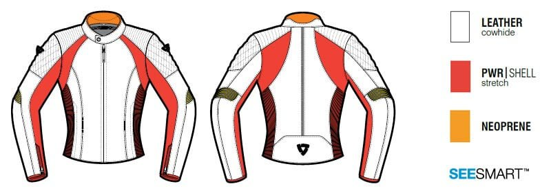 REVIT Luna Motorcycle Jacket Woman