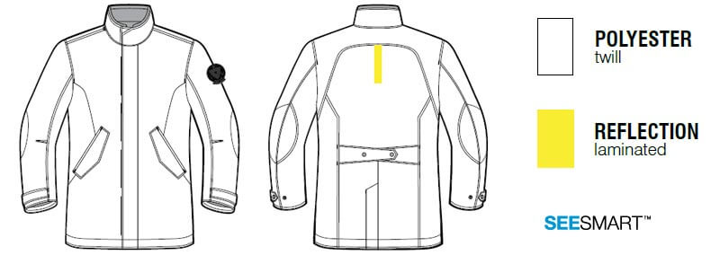 REVIT Sherlock Motorcycle Jacket Parka