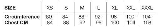 Helstons Size Chart EN DONNA