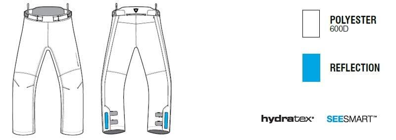 REVIT Varenne Pantaloni Moto