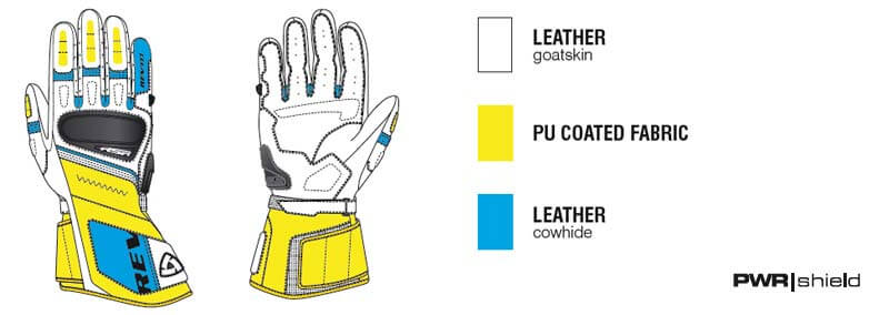 REVIT RSR 3 Gloves