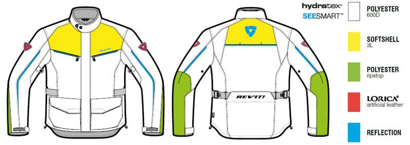 REVIT Voltiac 2 Motorcycle Jacket Man