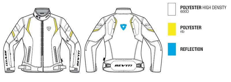 REVIT Motorcycle Jupiter 2 Woman Jacket